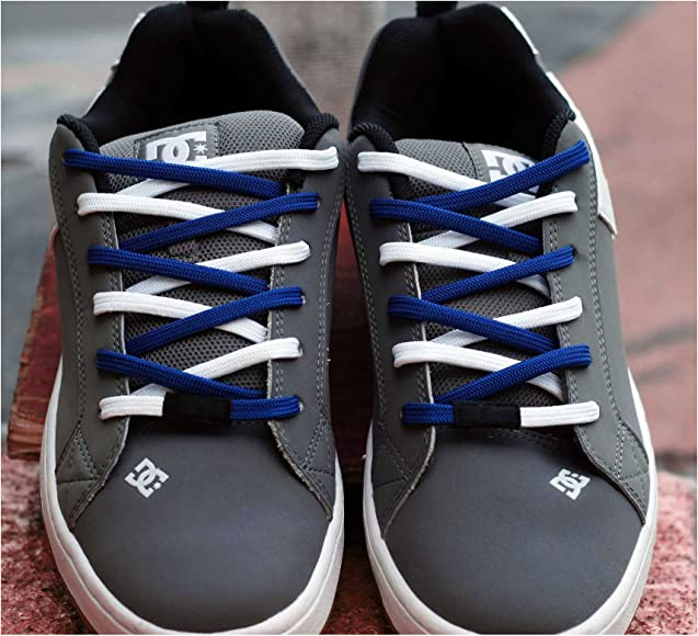 Amazon.com: Easy Tie Shoelaces Blue