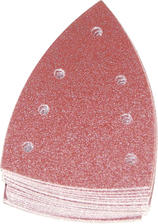 Multi-Colour STF Delta//7 GR Festool 497134 P180 Grit Granat Abrasives Pack of 10