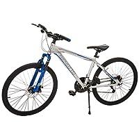 Benotto XC-5000 Bicicleta de Aluminio, Frenos DDM, Color Plata/Azul, Mediana