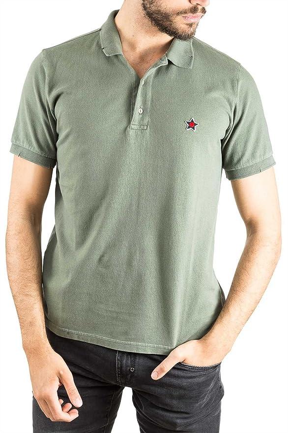 Desconocido 1.2.1. - Polo - para Hombre Verde Militar X-Large ...