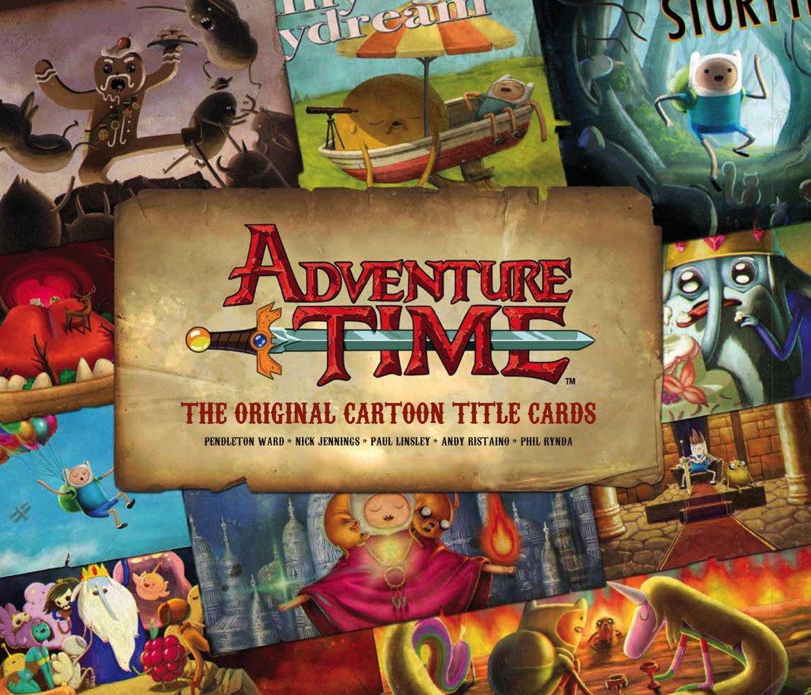Adventure Time: The Original Cartoon Title Cards PDF