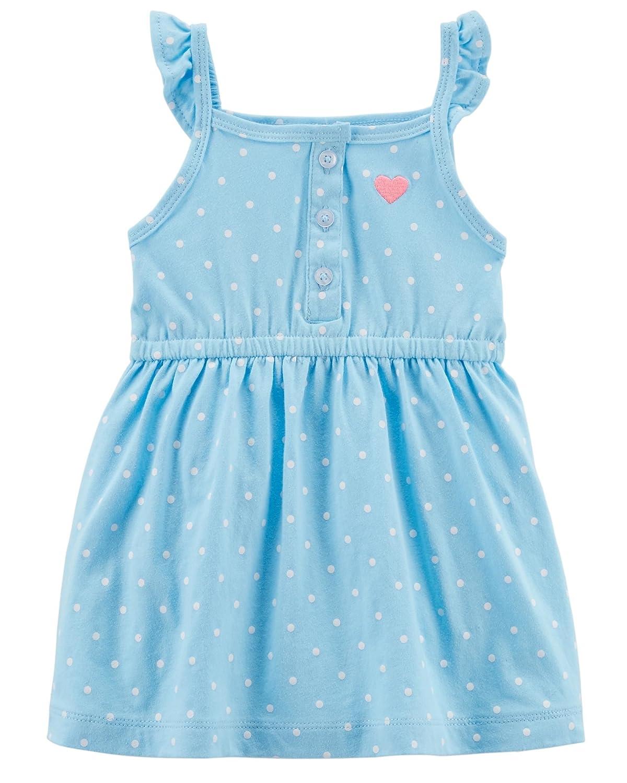 fce9a5d854e0 Amazon.com: Carter's Baby Girls' 0M-24M Floral Jersey Dress: Clothing