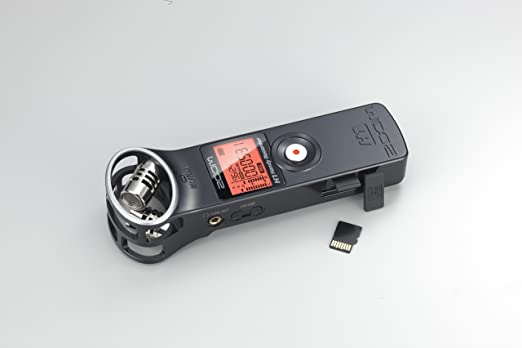 Zoom H1 - Grabador de sonido digital portátil, negro: Amazon.es ...