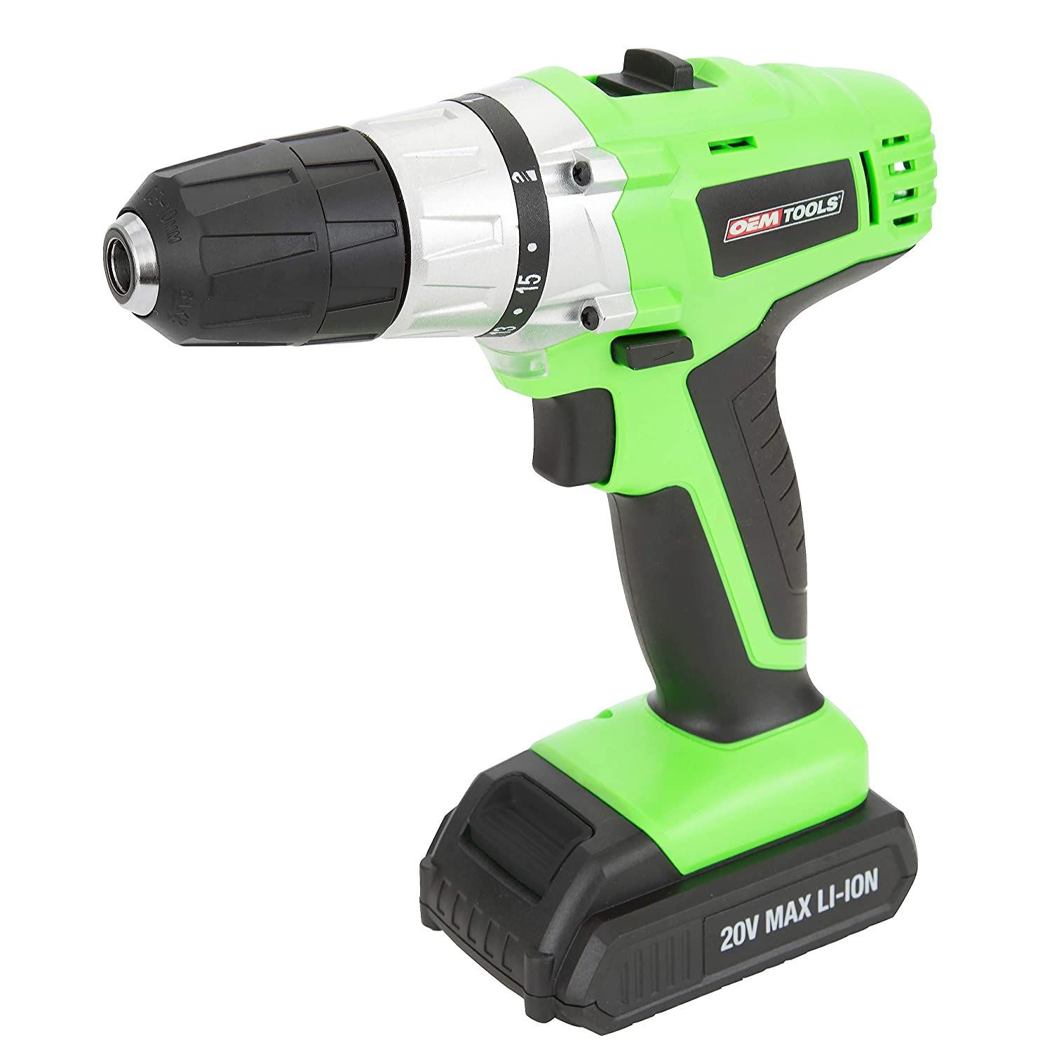 OEMTOOLS 24660 20 Volt Max Lithium Ion 3/8 Inch Drive Cordless Drill