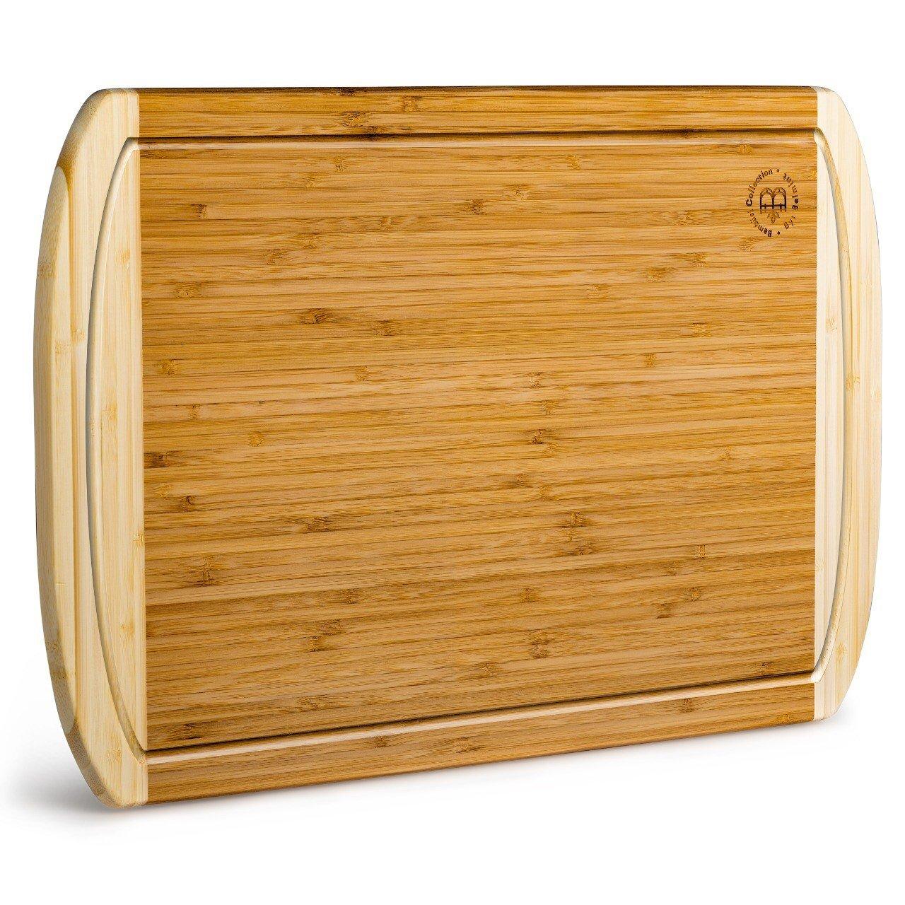 Bambusi 100% Natural Bamboo Cutting Board - Large Bambüsi BEL-CBS