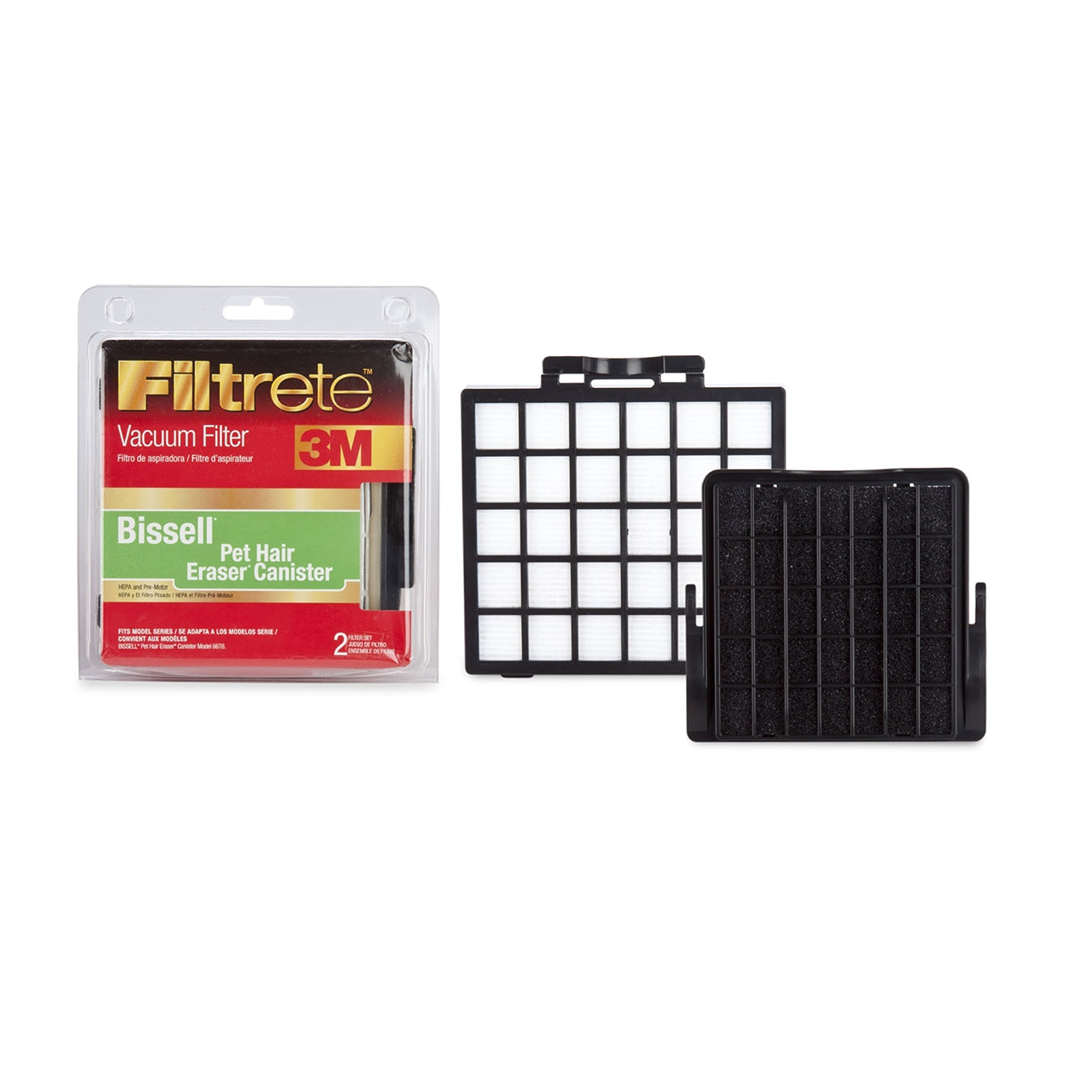 Bisssell Pet Hair Eraser Cyclonic Canister Dirt Cup Pleated Hepa Filter 2037413