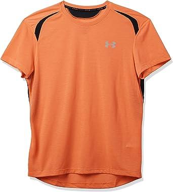 Under Armour UA Streaker 2.0 Camiseta SM Verde Hombre