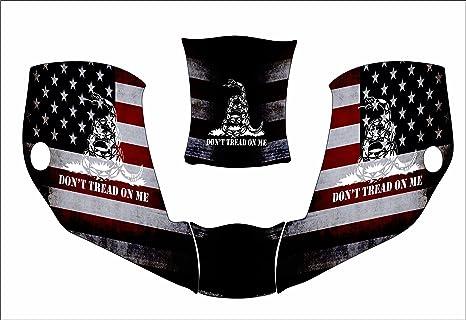 Miller Digital Infinity Infiniti 271329 Welding Helmet Hood Jig Decal  Sticker Dont American Flag Black
