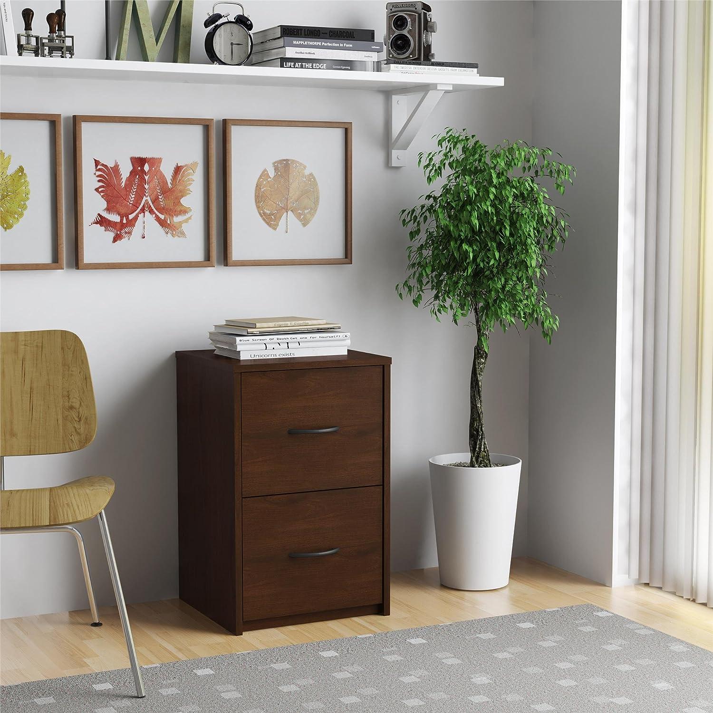 Amazon.com: Altra Core 2 Drawer File Cabinet, Resort Cherry ...