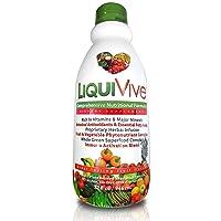 LiquiVive Liquid Vitamins Vegetarian Dietary Mega Supplement   Daily Multivitamin...