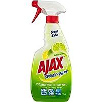 Ajax Spray n Wipe Spray'N'Wipe Kitchen Cleaning, Baking Soda,500ml