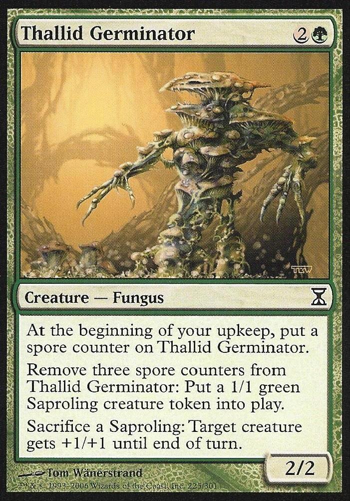 Magic The Gathering - Thallid Germinator - Time Spiral