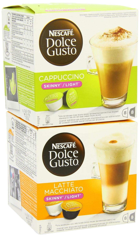 Nescafe Dolce Gusto Skinny Cappuccino & Skinny Latte ...