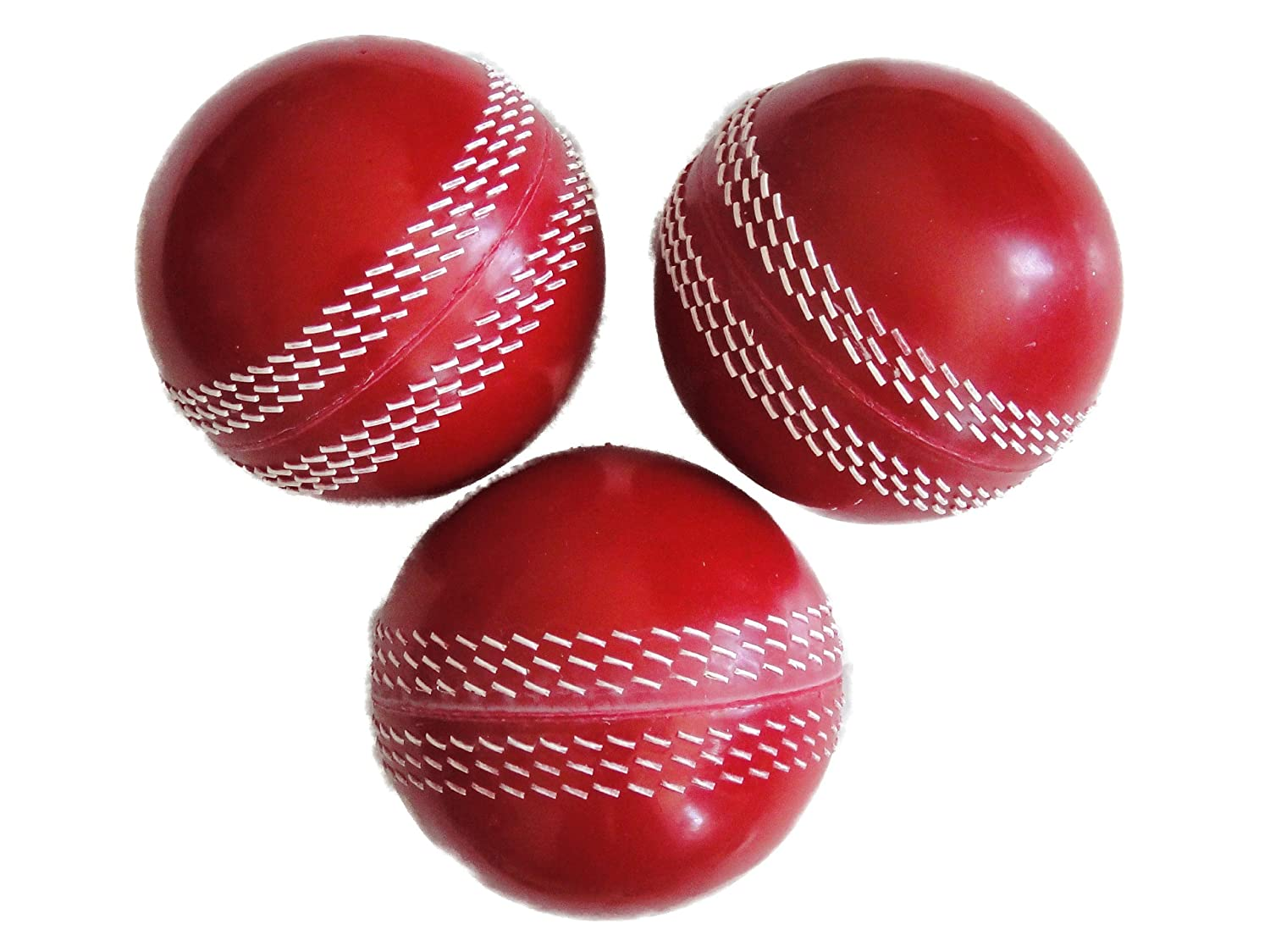 Pro Impact Poly Soft Pvc Cricket Balls 6 Bola Volly Smash Practice Sports Outdoors
