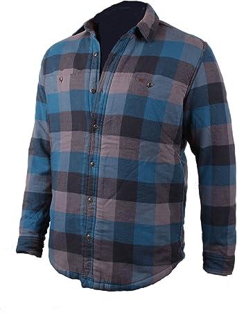 Timberland Hombre Camisa De Franela Bass River Sherpa Talla M - algodón, petrol, 100% algodón 100% poliéster, hombre, M: Amazon.es: Ropa y accesorios
