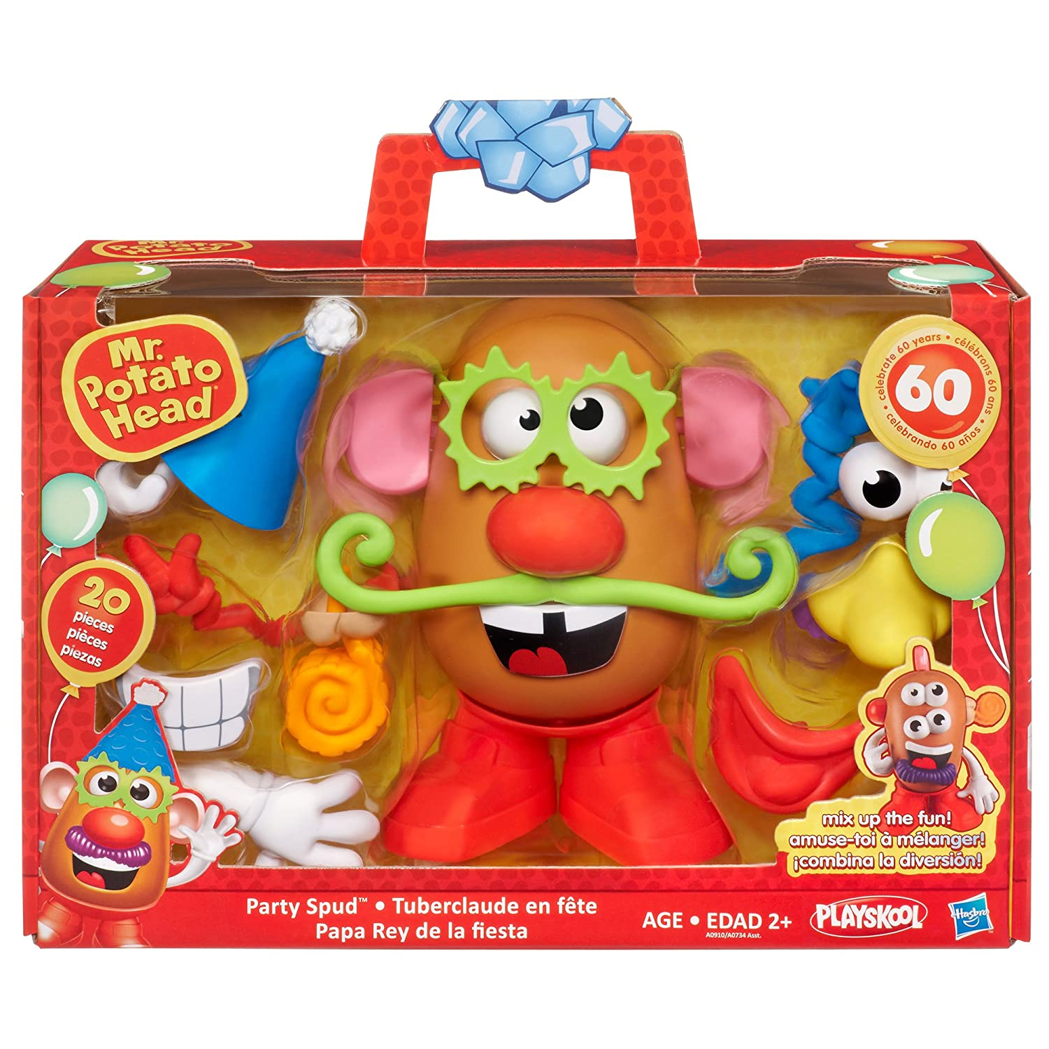 Amazon Hasbro Mr Potato Head Mr Bday Toys Games – Mr Potato Head Birthday Card