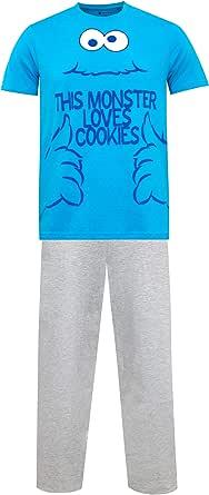 Sesame Street Pijama para Hombre Monstruo de Las Galletas