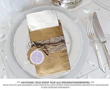 Set 24 Flachbeutel Braun 130 X 95 Mm 24 Sticker Schon Dass Du Da