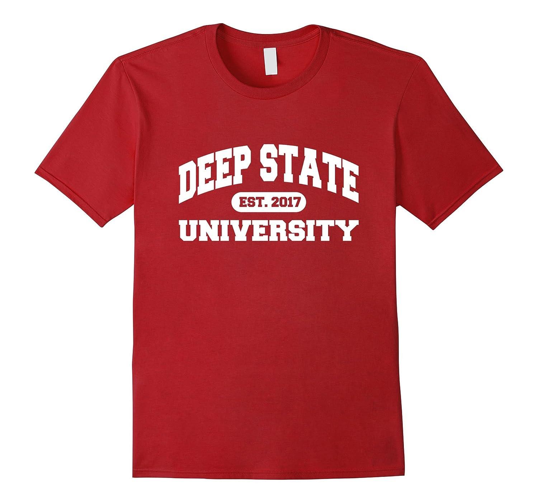 Deep State University Tshirt-RT