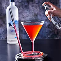 bar@drinkstuff La siptini cóctel Cristal 7.7oz/220ml–Novedad Martini Tapa