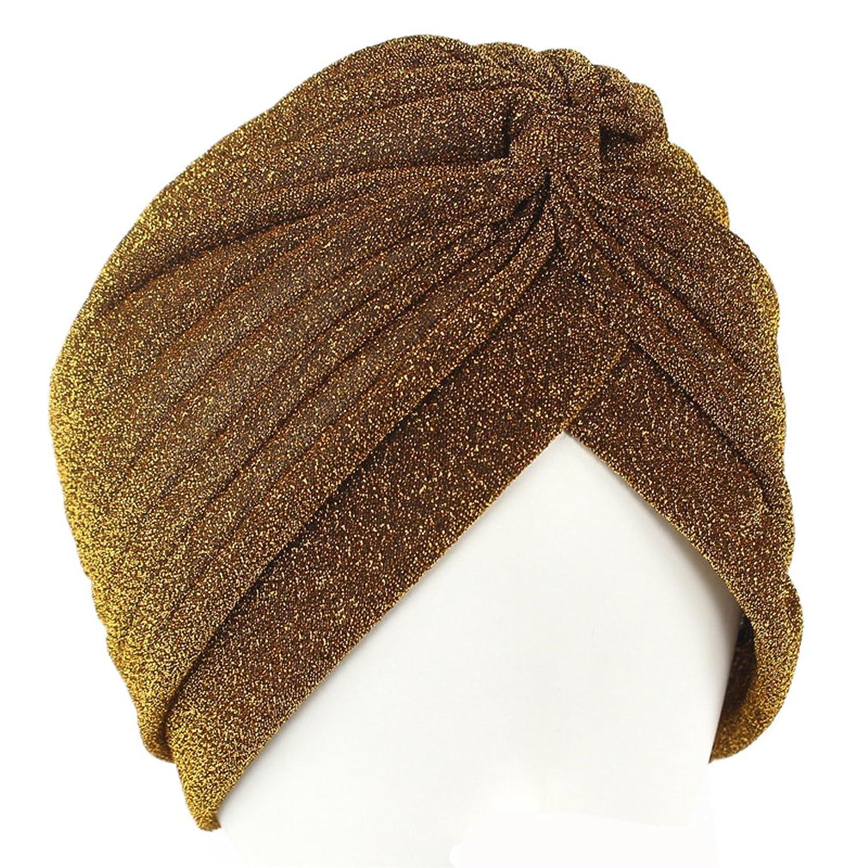 e3da728d880 Luck Femme Fille Mouslin Indien Chapeau Bouchon Coiffure Mouchoir de Tête