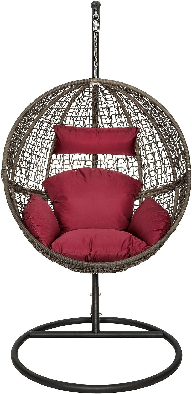 silla colgante para exterior
