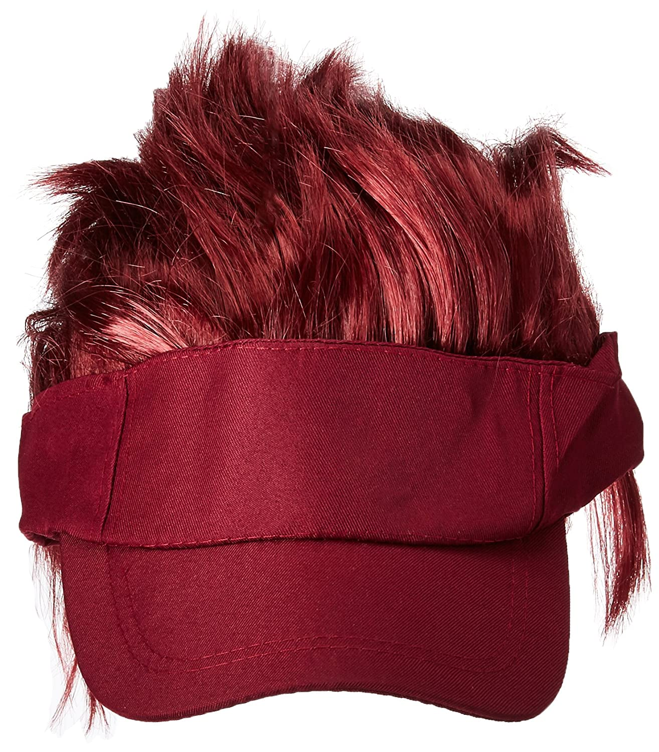 Amscan Burgundy Spiked Visor Hat Party Accessory TradeMart Inc 3 Ct 250539.91