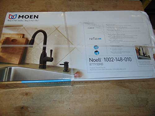 Moen 87791BRB Noell Pulldown Kitchen Faucet Mediterranean Bronze Finish