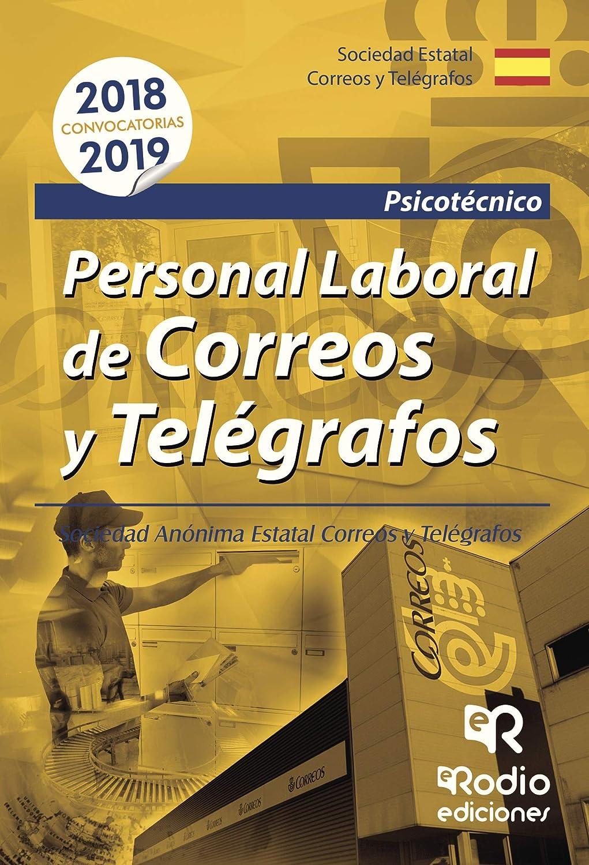 Personal Laboral de Correos y Telégrafos. Psicotécnico eBook: Varios autores: Amazon.es: Tienda Kindle