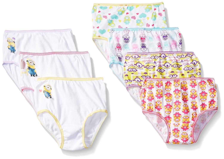 Despicable Me Girls Minion Toddler 7pk Panty c44534e1e