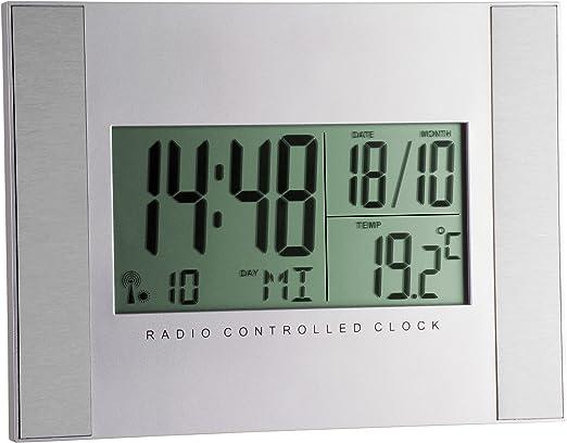 TFA Dostmann 98.1061 - Reloj Digital de Pared (150 x 200 x 24 mm ...