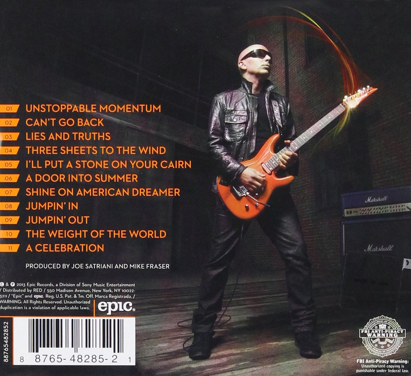 Unstoppable Momentum: Joe Satriani: Amazon.es: Música