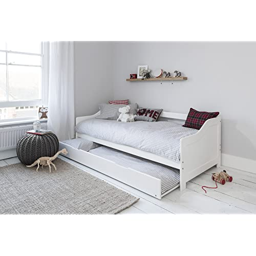 Noa And Nani Day Bed Single Bed With Underbed In White 2 Beds In 1 HOVE