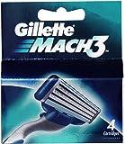 Gillette Mach 3 Cartridge 4 Pack