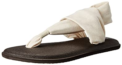 Sanuk Yoga Sling Metallic Womens Sandal (9 B(M) US/40 EUR, Rose Gold)