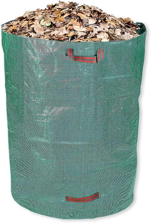 Schramm®Bolsa de jardín 300L Polipropileno Tejido 67 x 85 cm PP Sacos de jardín Sacos de jardín Sacos de jardín Big Bag Residuos de Hojas: Amazon.es: Jardín
