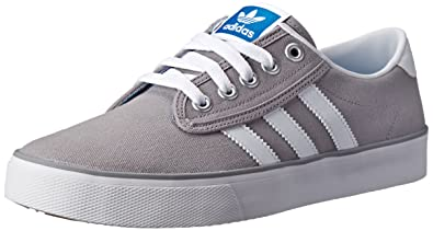 new arrival 5b443 1adaa adidas Originals Men s Kiel Fashion Sneaker, Light Granite C White Blue  Bird,