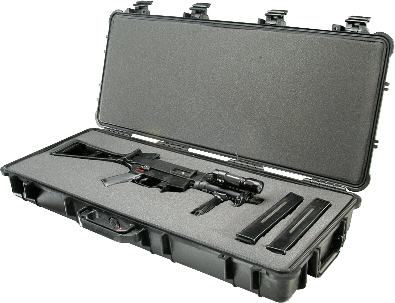 Pelican 1700 Rifle Case With Foam (Black) by Pelican (Image #2)