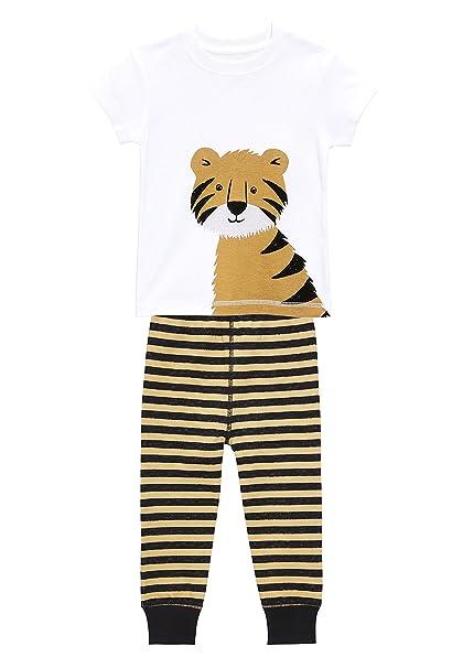 next Niños Pijama De Diseño Abrigado con Motivo De Tigre (9 Meses - 6 Años