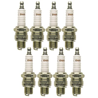 Champion QL77JC4 (828M) Pack of 8 Spark Plugs: Automotive [5Bkhe1004317]