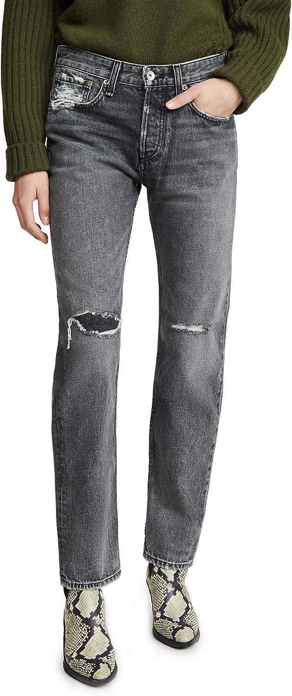 Rag & Bone/JEAN Women's Rosa Mid-Rise Boyfriend Jeans