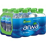 Arwa Bottled Drinking Water - 330 ml (Pack of 12)