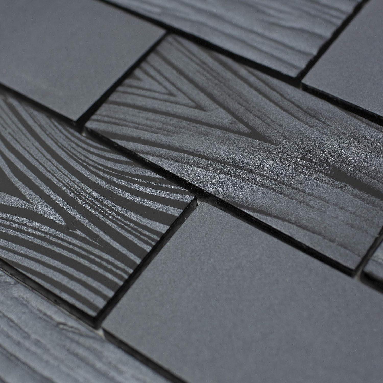 - Amazon.com: TDKTG-03 2x4 Wood Look Grey Black Metal Paint Effect