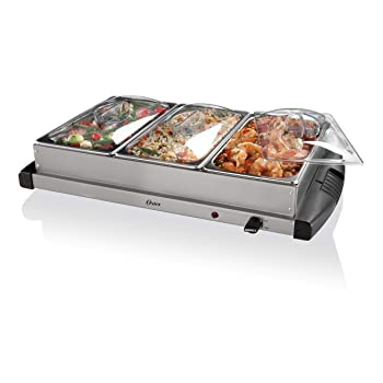Oster Triple Tray Chafing Dish