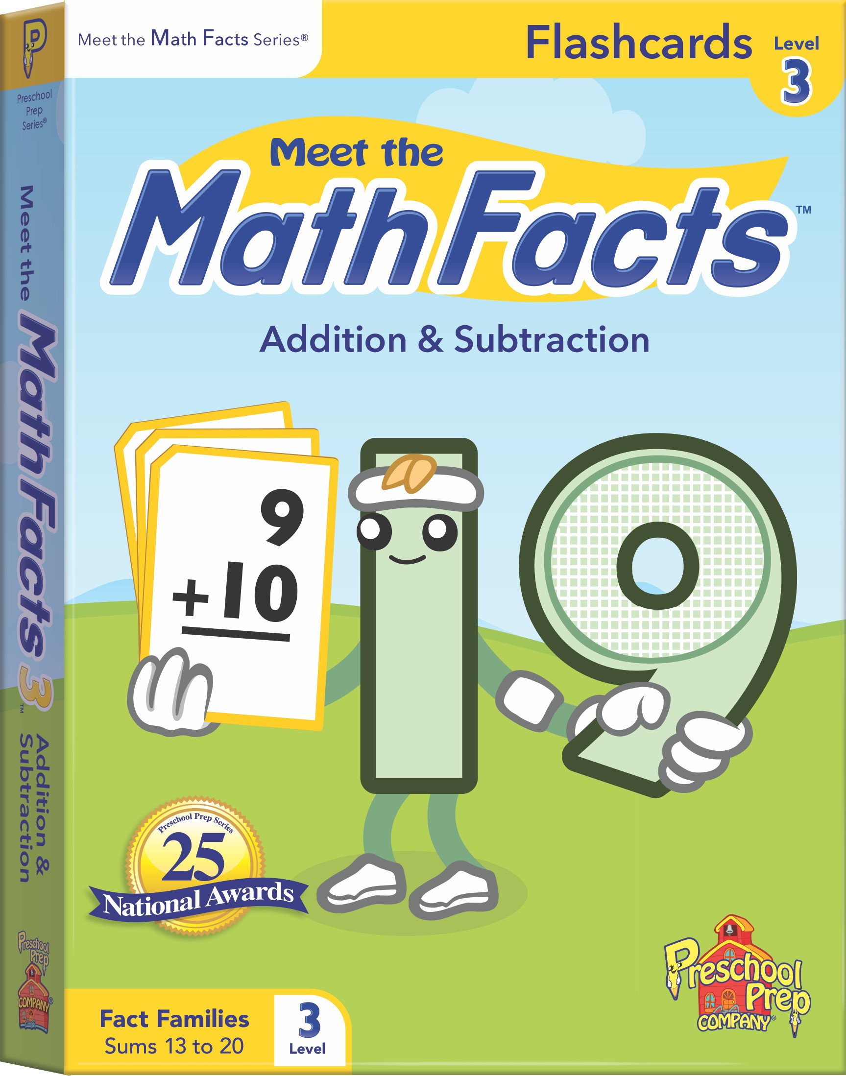 Meet the Math Facts Level 3 - Flashcards: Kathy Oxley: 9781935610519 ...
