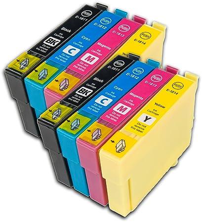 2 juegos de cartuchos de tinta T1806XL no OEM compatibles ...