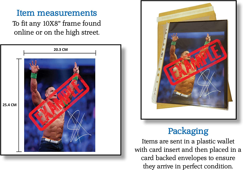 Qualit/é d/'impression photo Pr/ésent GAME OF THRONES #1 CARICE VAN HOUTEN cadeau Signature r/éimprim/ée pour les collections Taille 10x8 pour adapter les cadres 10x8 pouces Affichage photo