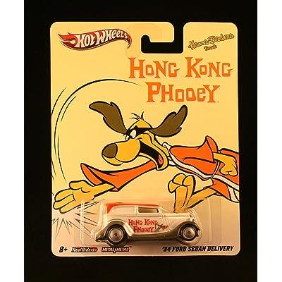 Hot Wheels '34 FORD SEDAN DELIVERY HONG KONG PHOOEY Hanna-Barbera Presents 2011 Nostalgia Series 1:64 Scale Die-Cast Vehicle: Toys & Games