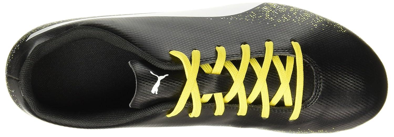Puma Men s Truora Fg Black White-Blazing Yellow Football Boots-10 UK India  (44.5 EU) (10461801)  Buy Online at Low Prices in India - Amazon.in b861e4292