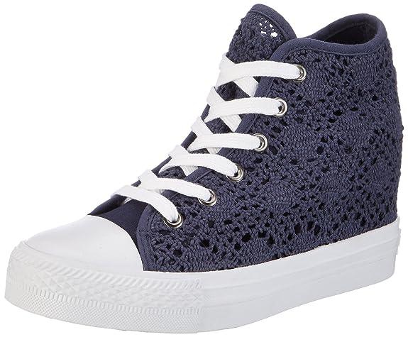 Fiorucci Fepe024, Élevé Pour Les Femmes, Chaussures Bleu (marine), 37 Eu